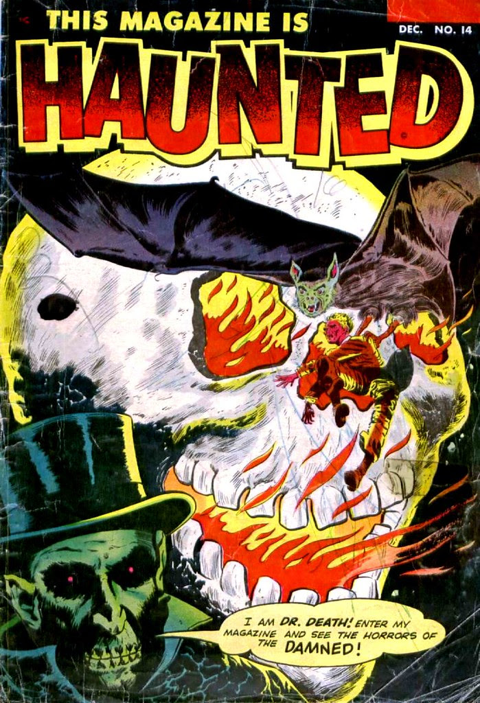This Magazine is Haunted 14 Fawcett Comics 1953