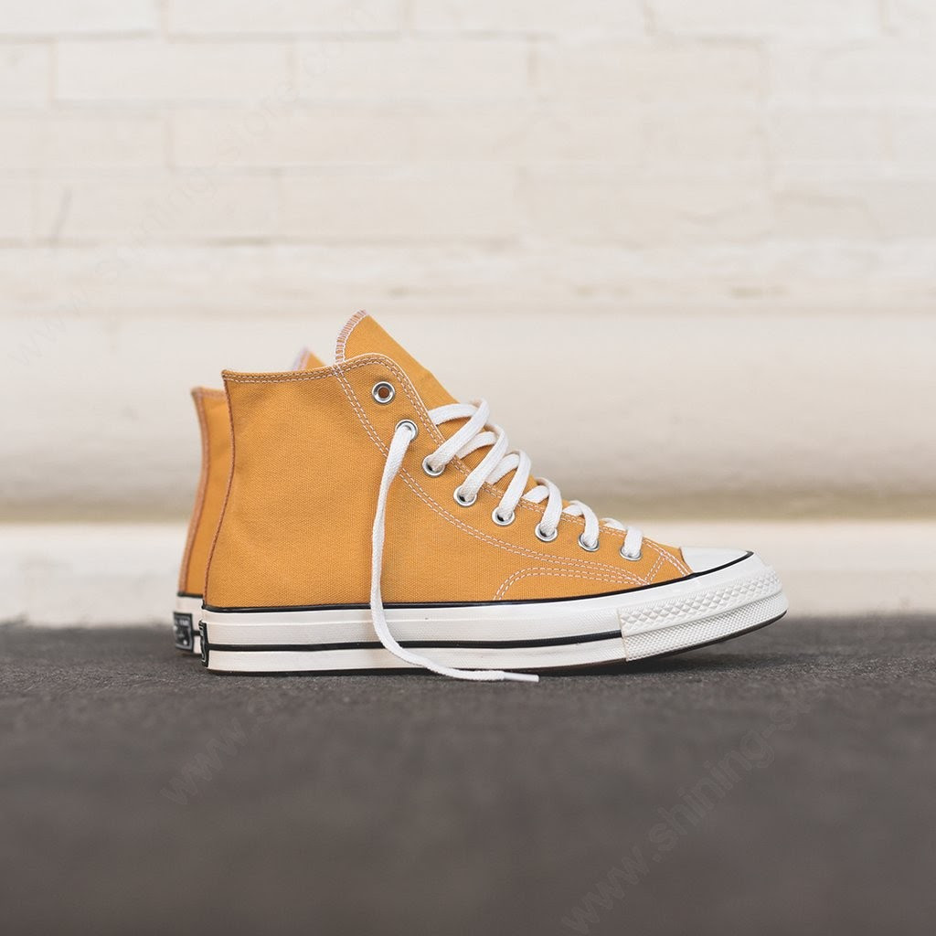Man Shoes Converse Chuck Taylor 70S High Sunflower / White ...