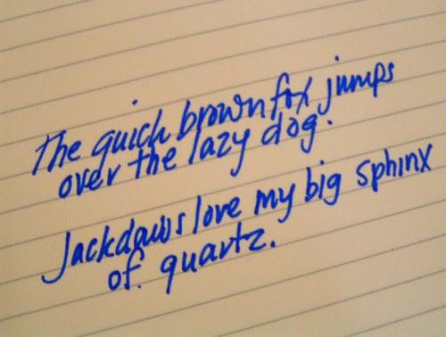 handwriting meme