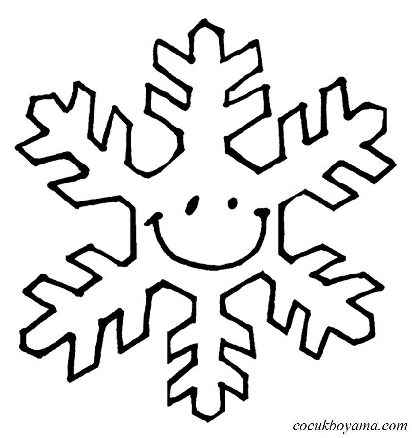 Kar Tanesi 36 ücretsiz Boyama Resimleri