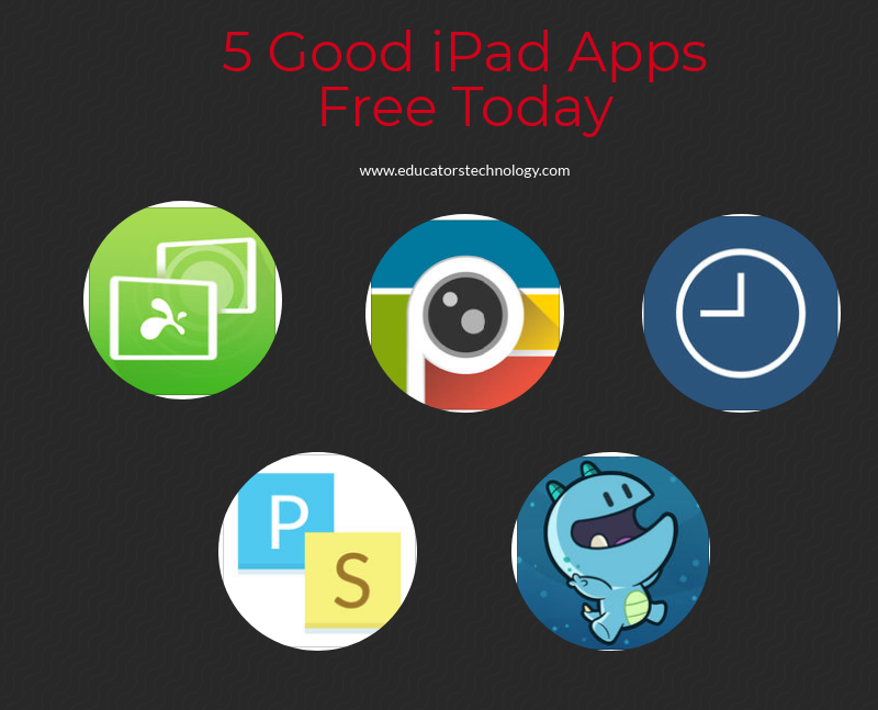 5 Good iPad Apps Free Today
