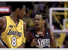 Allen Iverson drops 41 on the Lakers, breaks Kobe's ankles