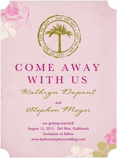 Destination Wedding Save the Date Ideas   Save The Date