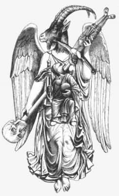 Angel And Demon Tattoo Design