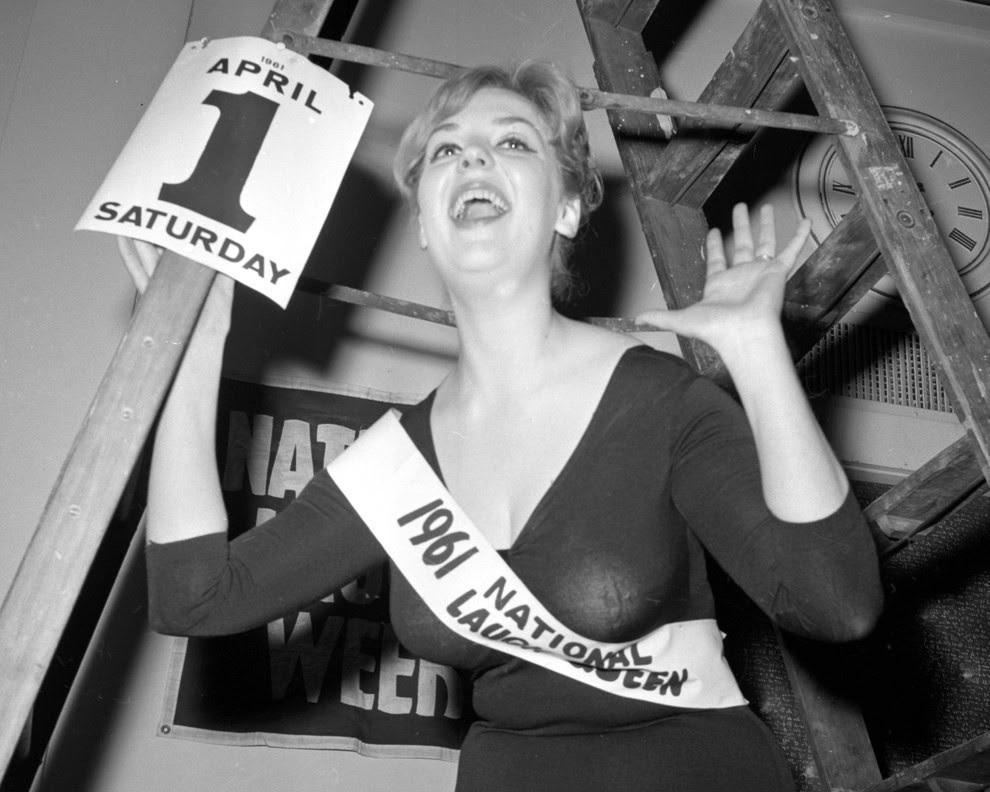 5. Королева Смеха, 1961 конкурс, королева, красота