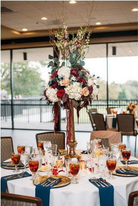 25 Burgundy and Navy Wedding Color Ideas   Wedding