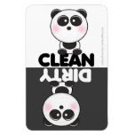 Cute Panda Dishwasher Magnet