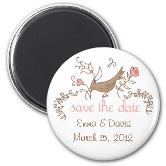 Sweetest Save the Date Magnet magnet