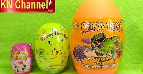 Đồ chơi Bóc trứng bất ngờ tập 4 Bé Na Dinosaur Magic Eggs Surprise Childrens toys