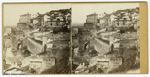 Fotografía estereoscópica de Toledo. Anónimo siglo XIX. Ministerio de Cultura