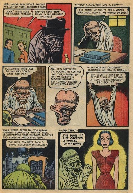 Basil Wolverton Robot Woman Weird Mysteries 002 2_cr