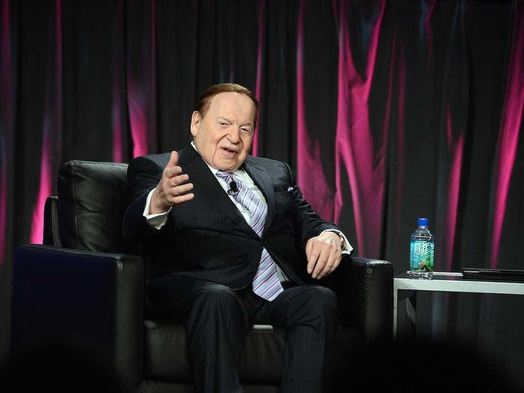 AGE 81: Sheldon Adelson