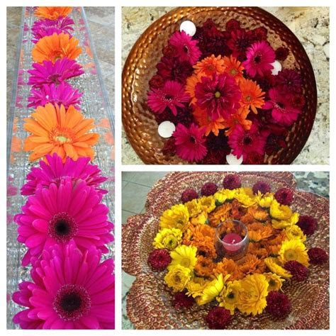 Indian flower arrangement   Indian wedding   Pinterest