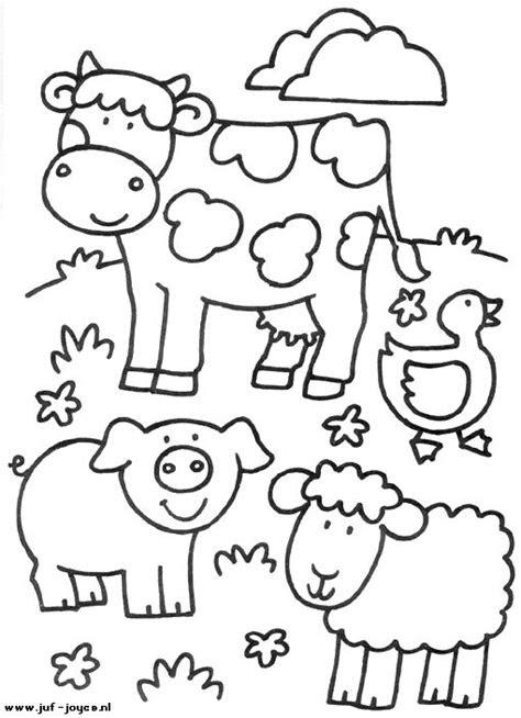 animales de granja dibujos  colorear coloring