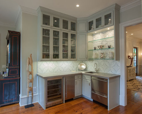 Corner Wet Bar Home Design Ideas, Pictures, Remodel and Decor