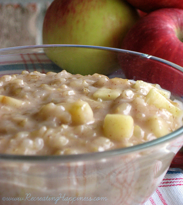 Apple Rice Pudding {Top 8 + Gluten Free}