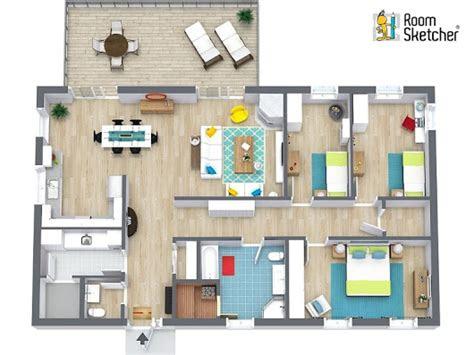 roomsketcher home designer   easy   floor plan