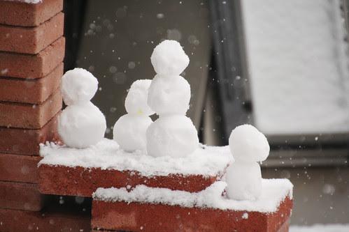 target snowmen