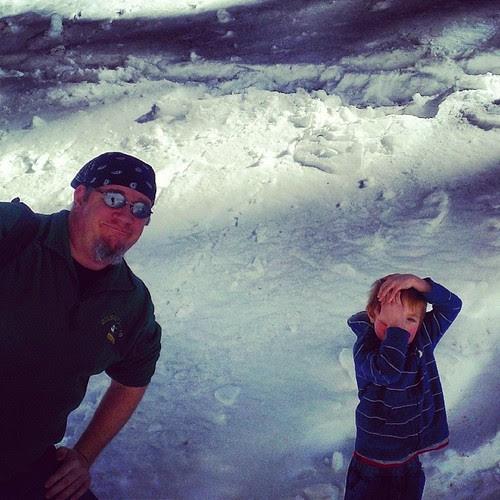 Sunday snow hiking!