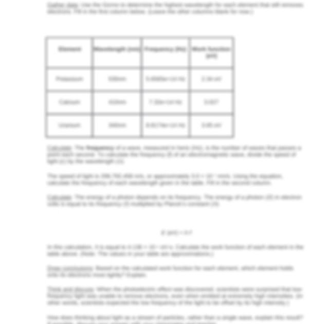 Student Exploration Periodic Trends Gizmo Answer Key ...