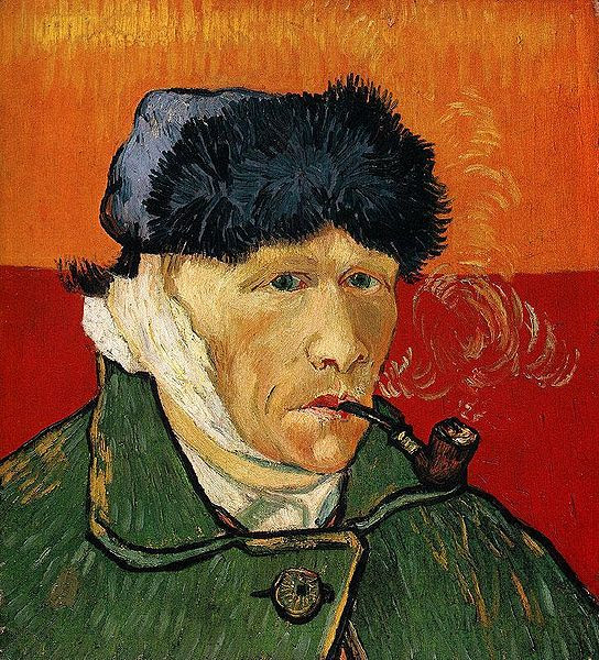 File:Vincent van Gogh - Self Portrait with Bandaged Ear and Pipe.jpg