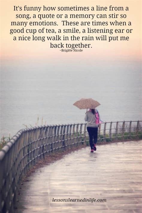 Quotes Walking In The Rain