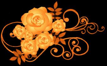 薔薇 バラ イラスト黒背景用 画像フリー素材無料素材倶楽部 薔薇の花