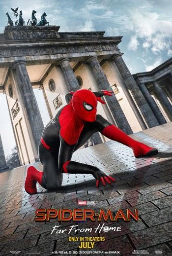 Spider Man Far from Home 2019 Dual Audio Hindi HDRip 480p 500MB KSubs