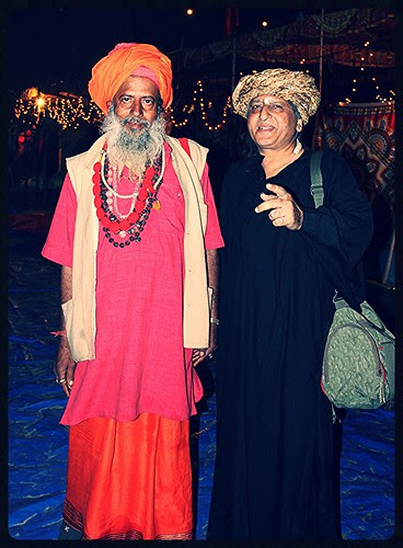 The Naga Sadhu And The Malang ,,, by firoze shakir photographerno1