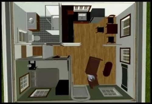 2 Car Garage Conversion Studio, Converting A Garage Into An Apartment Floor Plans