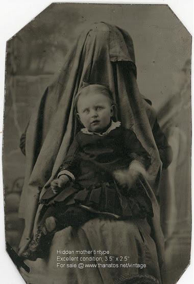hidden mother tintype