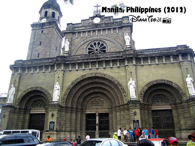Day 4 - Philippines Manila Cathedral 02