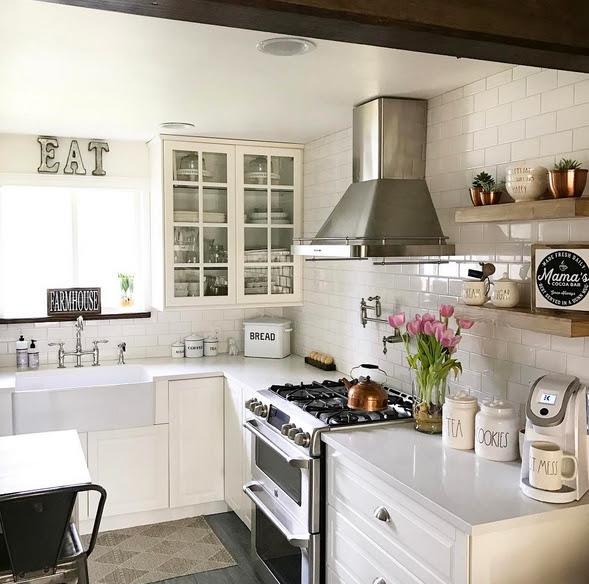 13 Real-Life Beautiful and Inspirational IKEA Kitchens ...
