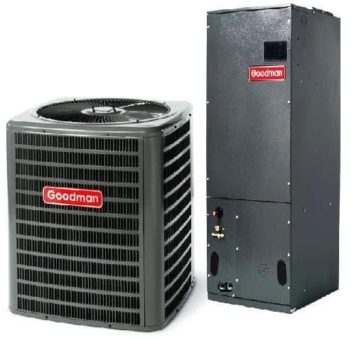 Ac Split 3 Ton Goodman 16 Seer R 410a Air Conditioner