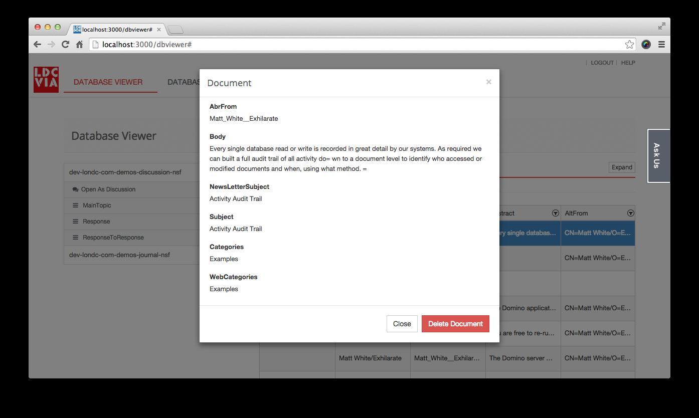 Screenshot: document viewer