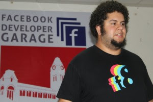 David-Speaking at fb-developer garage