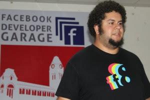David-Speaking at fb-developer garage