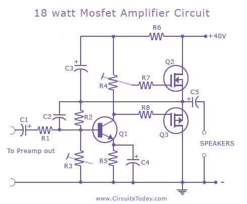 Amazing Do It By Self With Wiring Diagram Simple Mosfet Amplifier Pcb Circuit Wiring Cloud Pimpapsuggs Outletorg