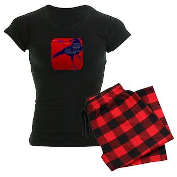 Crow Symbol Women's Dark Pajamas