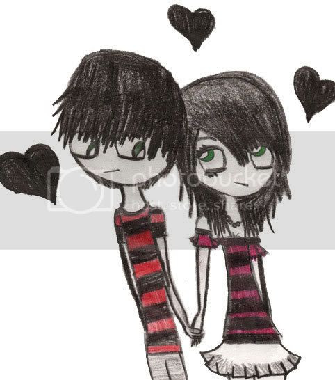 emo love heart pictures. Hearts and Love