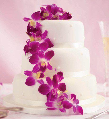 Tropical Flower Wedding Cake   Weddings   Beach or