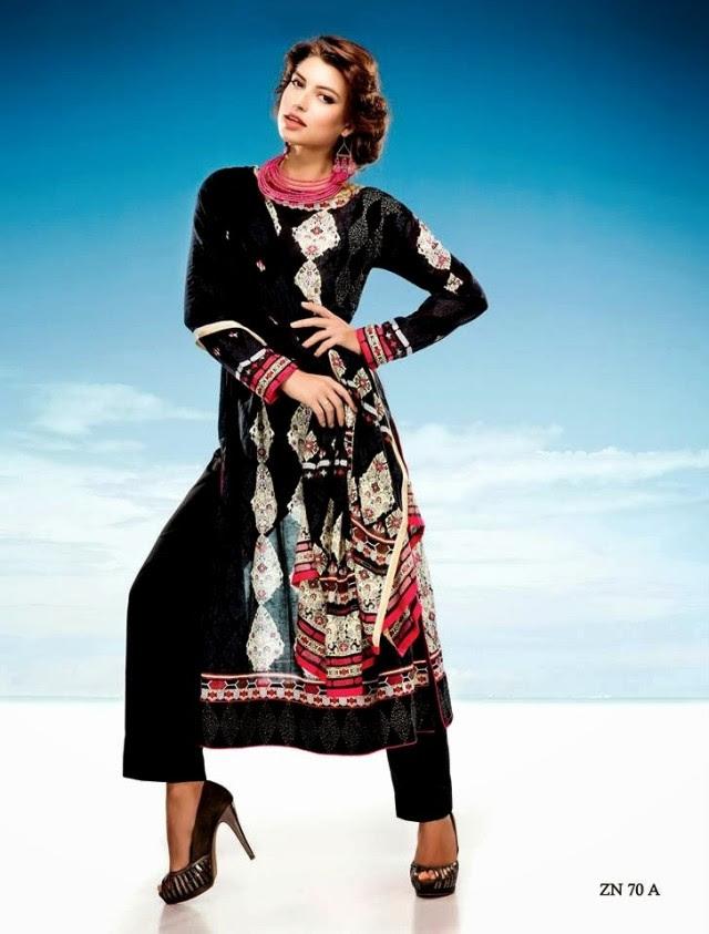 Womens-Girl-Wear-Beautiful-Zari-Net-Fancifull-New-Fashion-Lawn-Dress-by-Five-Star-Textile-3