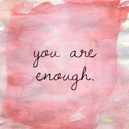 When Do You Decide You Are Enough Kelsey Ann Occhipinti