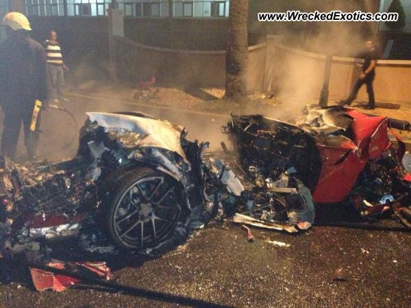 2012 Ferrari 599 GTO Crash in Santo Domingo, Dominican Republic