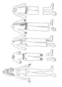 Disegno Di Vestito Da Sera Da Colorare Per Bambini