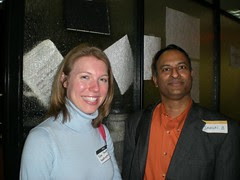 Kim Hart( Washington Post) & Shashi Bellamkonda ( Network Solutions)