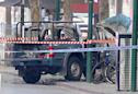 Gas-laden truck set afire, three stabbed, one dead in Australia terror attack