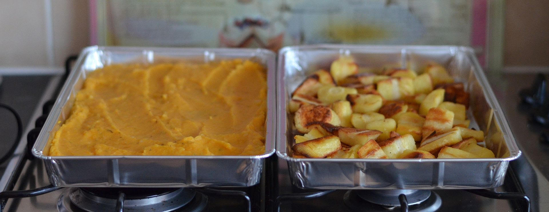 Roast Parsnips & Parsnip Mash