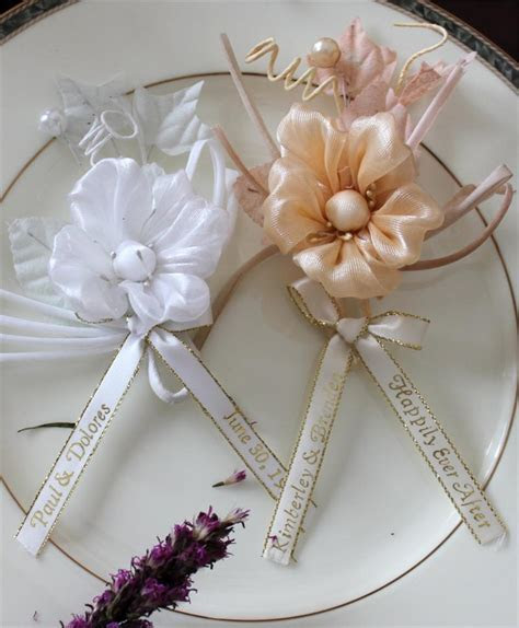 Personalized First Communion Corsage, Personalized Baby