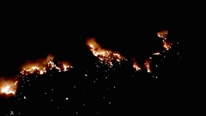 Bombeiros militares neutralizam mais focos de incêndio durante madrugada em Patu